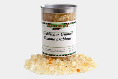 Arabischer Gummi, Gummi arabicum (Acac..