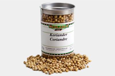 Koriander ganz (Coriandrum sativum)