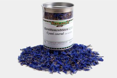 Kornblumenblüten ohne Kelch, blau (Cen..