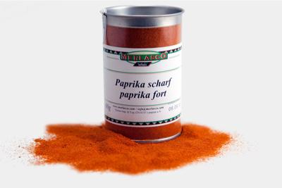 Paprika scharf (Capiscum annuum)