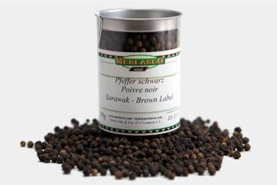 Pfeffer schwarz - Sarawak/Brown Label ..