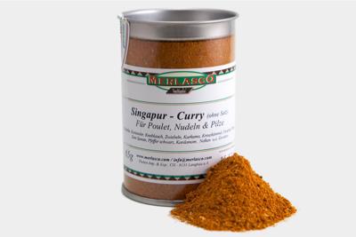 Singapur Curry (Gewürzmischung ohne Sa..