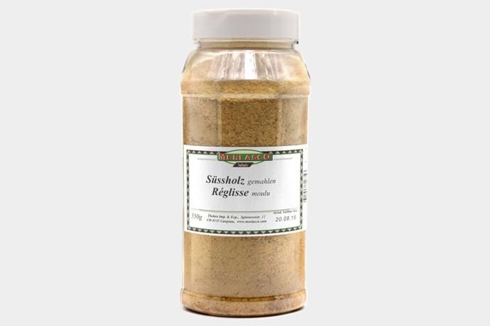 Süssholz gemahlen (Glycyrrhiza glabra)