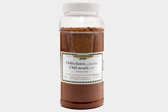 Chilischoten gemahlen, extrem scharf (..