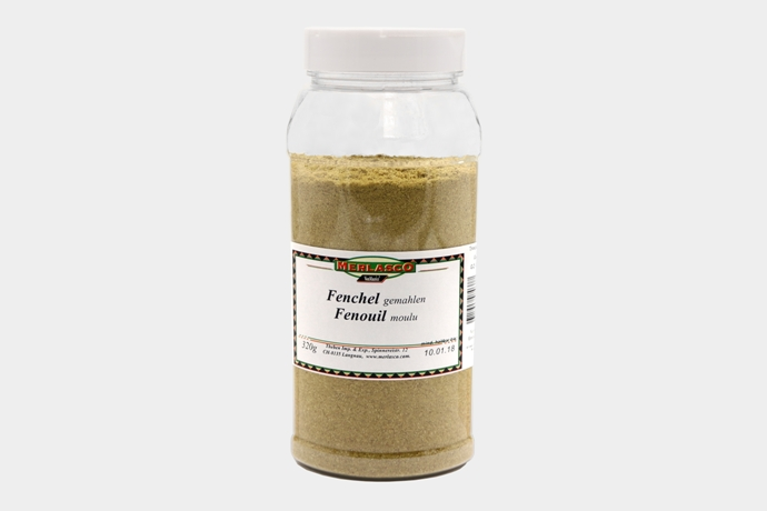 Fenchelsamen gemahlen (Foenicum vulgare)