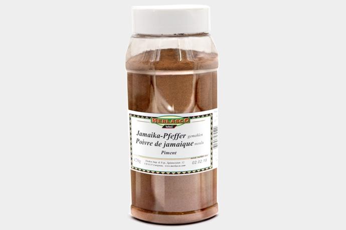 Jamaika-Pfeffer gemahlen (Piment, Nelk..