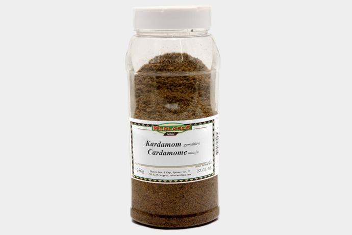 Kardamom gemahlen (Elettaria cardamomum)