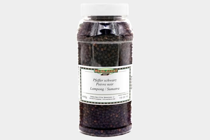 Pfeffer schwarz - Lampong/Sumatra (Pip..