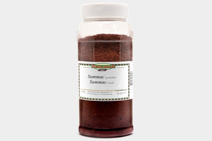 Summac gemahlen (Rhus coriaria)
