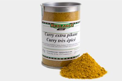 Curry extra pikant (Gewürzmischung ohn..