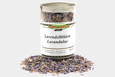Lavendelblüten (Lavandula officinalis,..