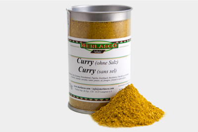 Curry Madras (Gewürzmischung ohne Salz)