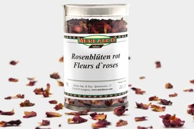 Rosenblütenblätter rot (Rosae flos)
