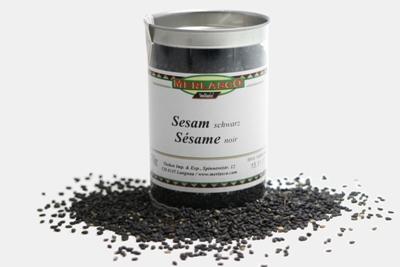 Sesam schwarz (Sesamum indicum nigrum)
