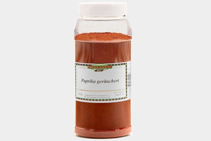 Paprika geräuchert (Capiscum annuum)