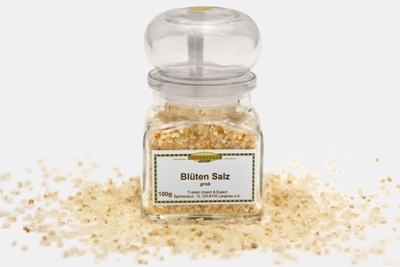 Blüten Salz, grob