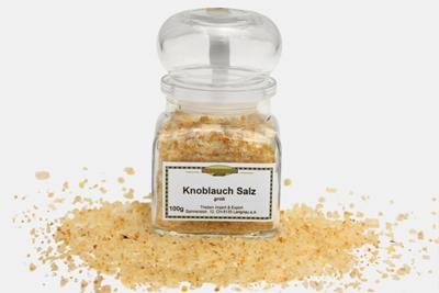 Knoblauch Salz, grob