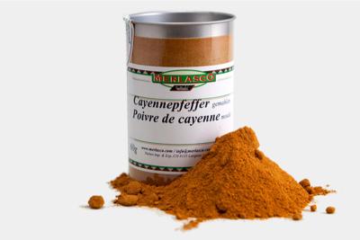 Cayennepfeffer gemahlen (Capiscum fruc..