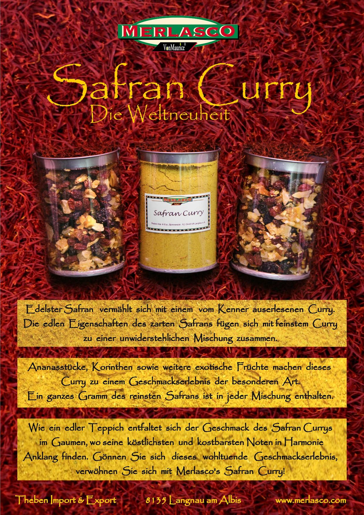 Safran Curry Flyer