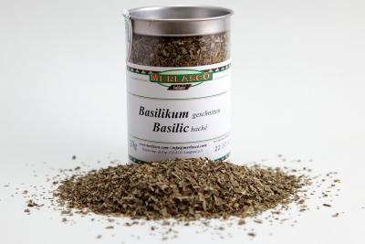 Basilikum geschnitten (Ocimum species)