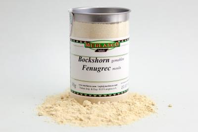 Bockshorn gemahlen (Trigonella foenum-graecum)