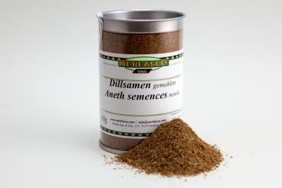 Dillsamen gemahlen (Anethum graveolens)