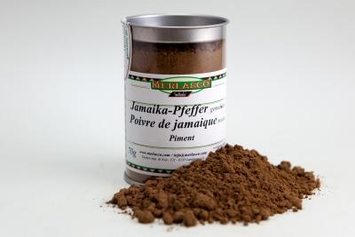 Jamaika-Pfeffer gemahlen (Piment, Nelkenpfeffer, Allspice), (Pimenta dioica)