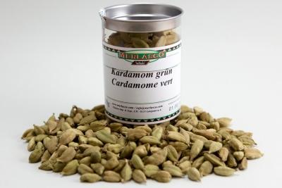 Kardamomkapseln grün (Elettaria cardamomum)