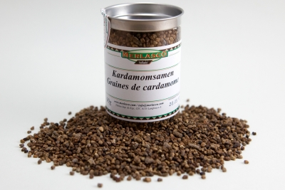 Kardamomsamen ganz (Elettaria cardamomum)