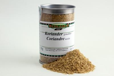 Koriander gemahlen (Coriandrum sativum)