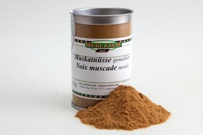 Muskatnuss gemahlen (Myristica fragrans)