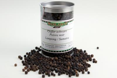 Pfeffer schwarz - Lampong/Sumatra (Piper nigrum)