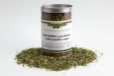 Sellerieblätter geschnitten (Apium graveolens)