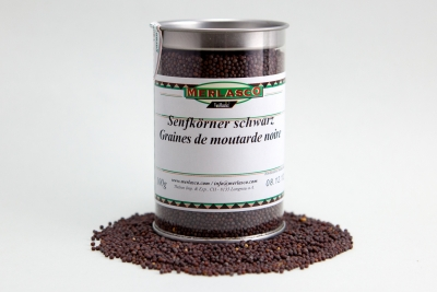 Senfkörner schwarz (Brassica nigra)