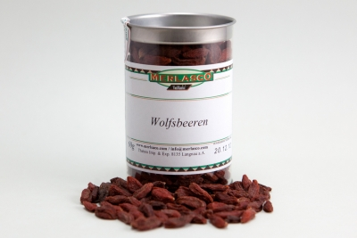 Goji-Beeren (chinesische Wolfsbeeren) (Lycium barbarum)