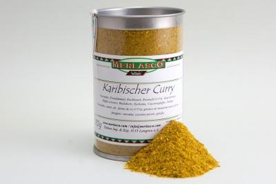 Karibischer Curry (Gewürzmischung ohne Salz)
