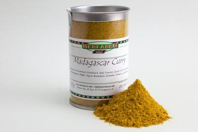 Madagascar Curry (Gewürzmischung ohne Salz)
