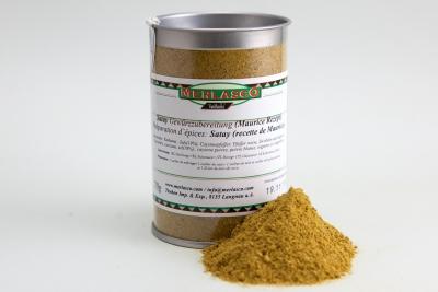 Satay (Rezept von Maurice) Gewürzzubereitung
