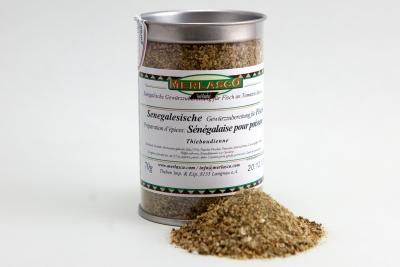 Senegalesische Gewürzzubereitung für Fisch (Thieboudienne)