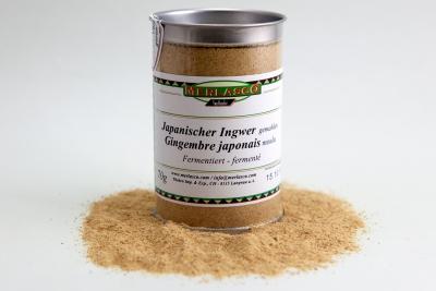 Ingwer (japanisch, fermentiert und gemahlen) (Zingiber officinale)