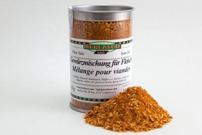 Fleisch (Gewürzmischung, ohne Salz)