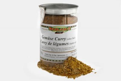 Gemüse Curry Gewürzmischung