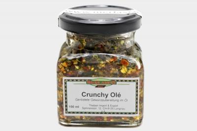 Crunchy Olé geröstete Gewürzzubereitung in Öl
