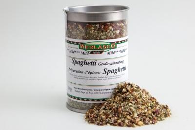 Spaghetti mild Gewürzzubereitung