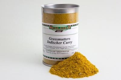 Grossmutters Indischer Curry (Gewürzmischung ohne Salz)
