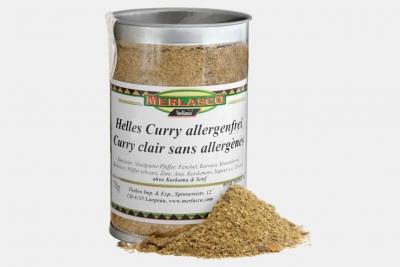 Helles Curry allergenfrei