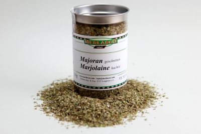 Majoran geschnitten (Origanum majorana)
