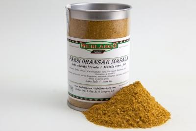 Parsi Dhansak Masala (Gewürzmischung ohne Salz)